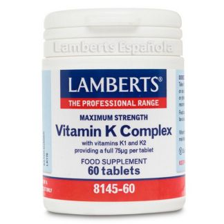 Complejo de Vitamina K. Lamberts - 60 tabletas