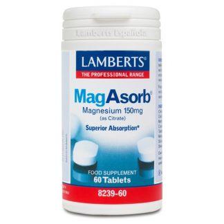 MagAsorb Lamberts - 60 tabletas