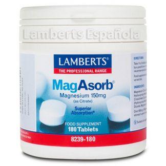 MagAsorb Lamberts - 180 tabletas