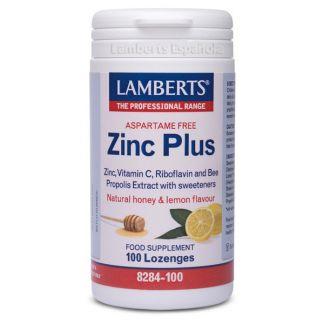 Zinc Plus Lamberts - 100 tabletas