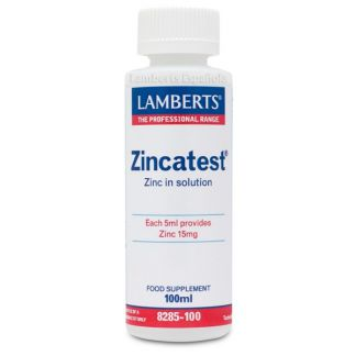 Zincatest Lamberts - 100 ml.