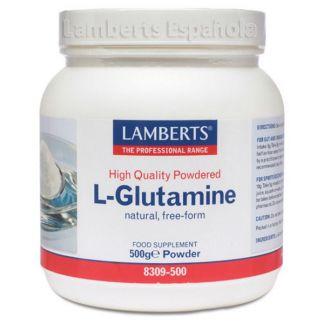 L-Glutamina en Polvo Lamberts - 500 gramos