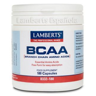 BCAA Lamberts - 180 cápsulas