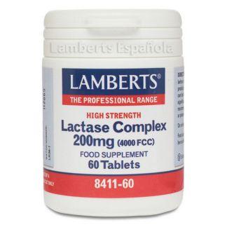 Complejo de Lactasa 200 mg Lamberts - 60 tabletas