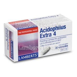 Acidophilus Extra 4 Lamberts - 30 cápsulas