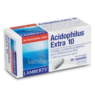 Acidophilus Extra 10 Lamberts - 30 cápsulas