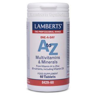 A-Z Multi Lamberts - 60 tabletas