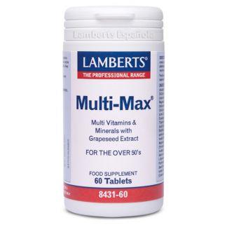 Multi-Max Lamberts - 60 tabletas