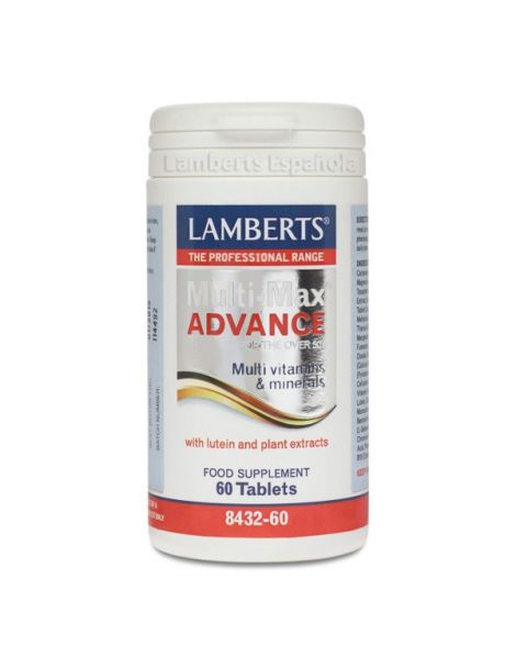 Multi-Max Advance Lamberts - 60 tabletas