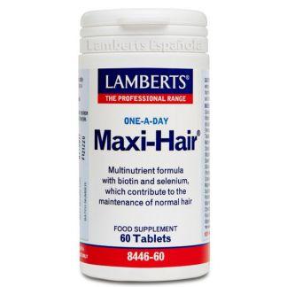 Maxi-Hair Lamberts - 60 tabletas