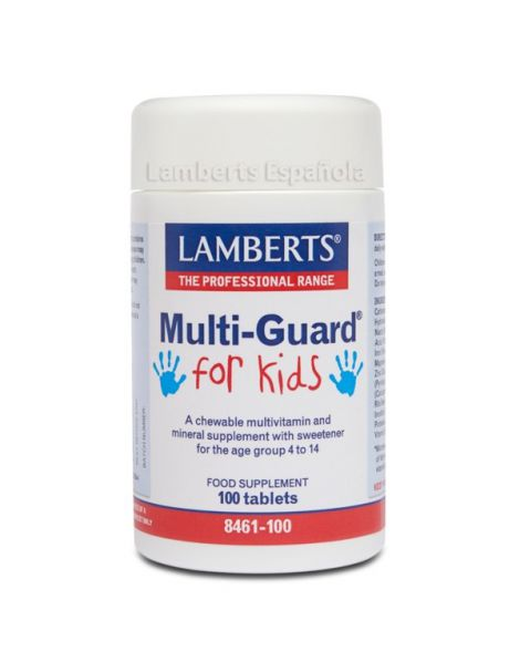 MultiGuard for Kids Lamberts - 100 tabletas