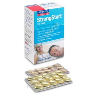 StrongStart para Hombres Lamberts - 30 tabletas/30 cápsulas