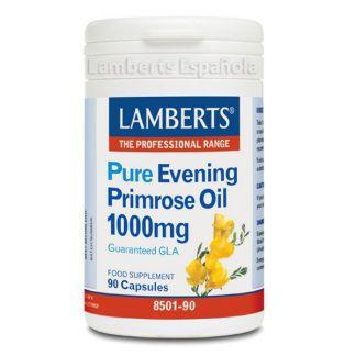 Aceite de Prímula Puro 1000 mg. Lamberts - 90 cápsulas