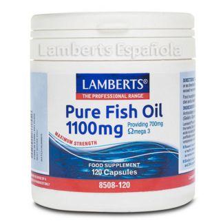 Aceite de Pescado Puro 1100 mg. Lamberts - 120 cápsulas
