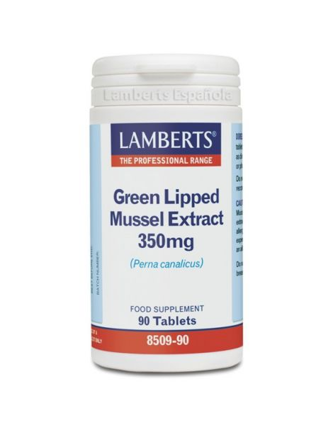 Extracto de Mejillón de Labio Verde 350 mg. Lamberts - 90 tabletas