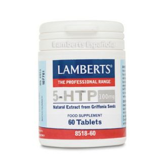 5-HTP 100 mg. Lamberts - 60 tabletas