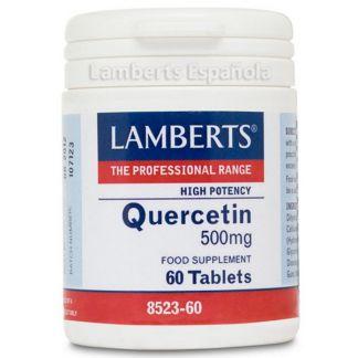 Quercitina 500 mg. Lamberts - 60 tabletas