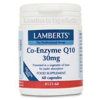 Co-Enzima Q10 30 mg. Lamberts - 60 cápsulas