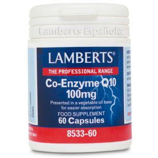 Co-Enzima Q10 100 mg. Lamberts - 60 cápsulas