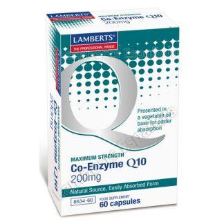 Co-Enzima Q10 200 mg. Lamberts - 60 cápsulas