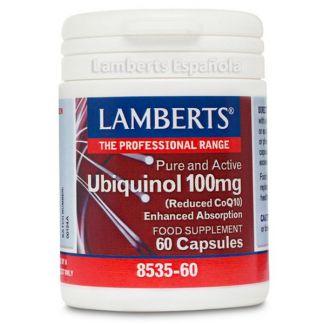 Ubiquinol 100 mg. Lamberts - 60 cápsulas