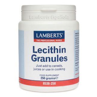 Lecitina de Soja Granulada Lamberts -  250 gramos