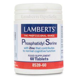 Fosfatidil Serina 100 mg. con Zinc Lamberts -  60 tabletas
