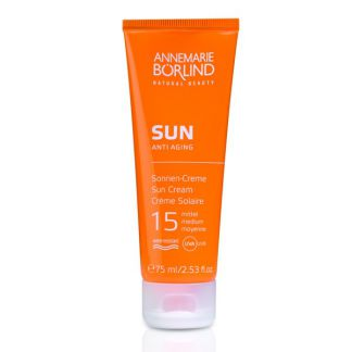 SUN Crema Solar Facial IP 15 Medio AnneMarie Börlind - 75 ml.