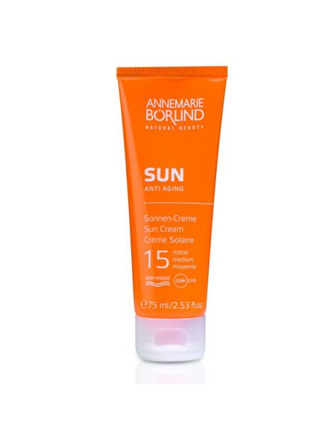 SUN Crema Solar Facial IP 15 Medio AnneMarie Börlind - 75 ml.