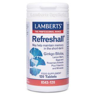 Refreshall Lamberts -  120 tabletas
