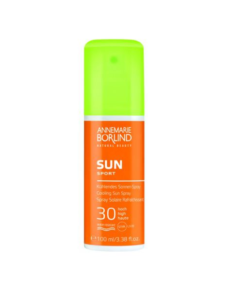SUN Sport Spray Refrescante IP 30 Alto AnneMarie Börlind - 100 ml.