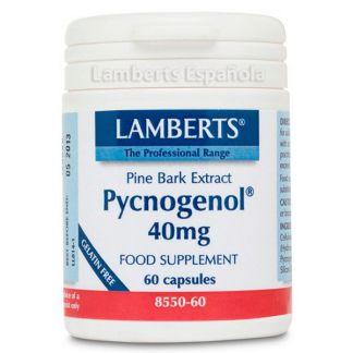 Pycnogenol 40 mg. Lamberts -  60 cápsulas