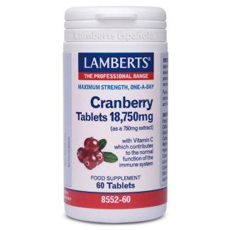 Arándano Rojo 18.750 mg. Lamberts -  60 tabletas