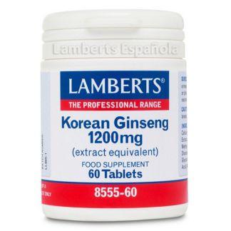 Ginseng Koreano 1200 mg. Lamberts -  60 tabletas