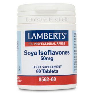 Isoflavonas de Soja 50 mg. Lamberts -  60 tabletas
