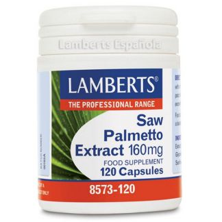 Extracto de Saw Palmetto 160 mg. Lamberts -  120 cápsulas