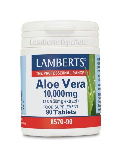 Aloe Vera 10000 mg. Lamberts -  90 tabletas