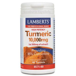 Cúrcuma 10.000 mg. Lamberts -  60 tabletas