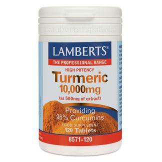 Cúrcuma 10.000 mg. Lamberts -  120 tabletas