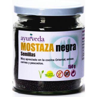 Semillas de Mostaza Negra Ayurveda Auténtico - 150 gramos