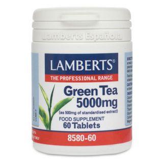 Té Verde 5000 mg. Lamberts - 60 tabletas