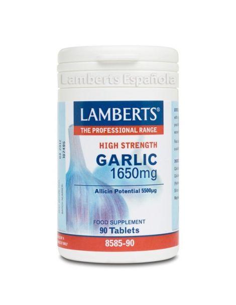 Ajo 1650 mg. Lamberts - 90 tabletas