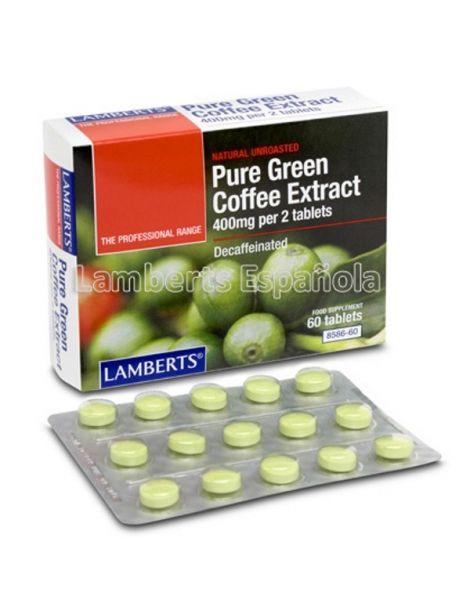 Extracto de Café Verde Puro Lamberts - 60 tabletas
