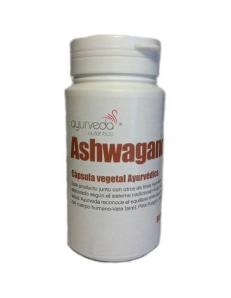 Ashwangandha Ayurveda Auténtico - 60 cápsulas