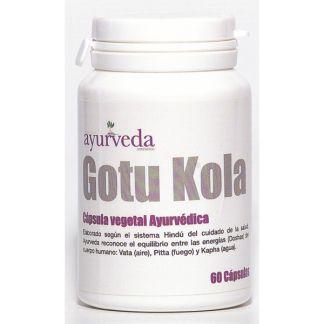 Gotukola Ayurveda Auténtico - 60 cápsulas