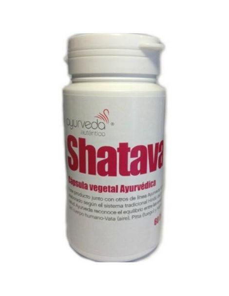 Shatavari Ayurveda Auténtico - 60 cápsulas