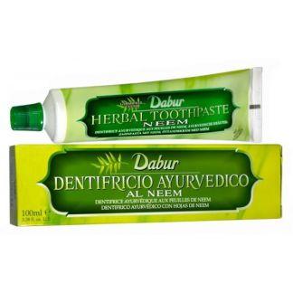 Dentífrico Ayurvédico al Neem Ayurveda Auténtico - 100 ml.