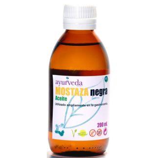 Aceite de Mostaza Negra Ayurveda Auténtico - 200 ml.