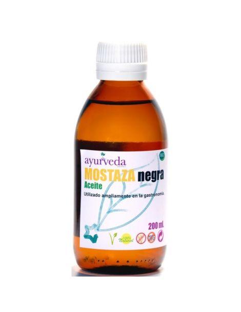 Aceite de Mostaza Negra Ayurveda Auténtico - 100 ml.