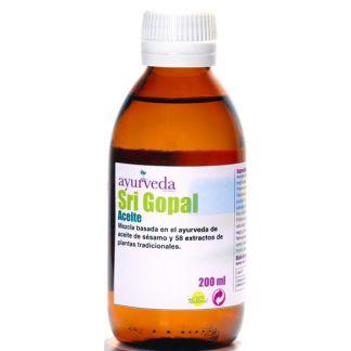 Aceite Sri Gopal Ayurveda Auténtico - 200 ml.